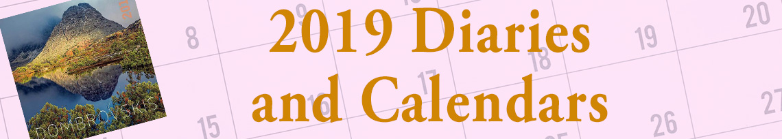 2019 Calendars and Diaries