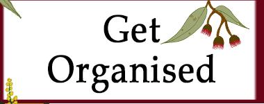Get Organised 2018 GG