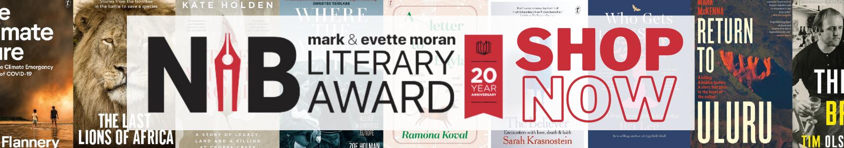 NIB Literary Awards 2021 Banner