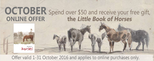 October online offer - Little Book of Horses