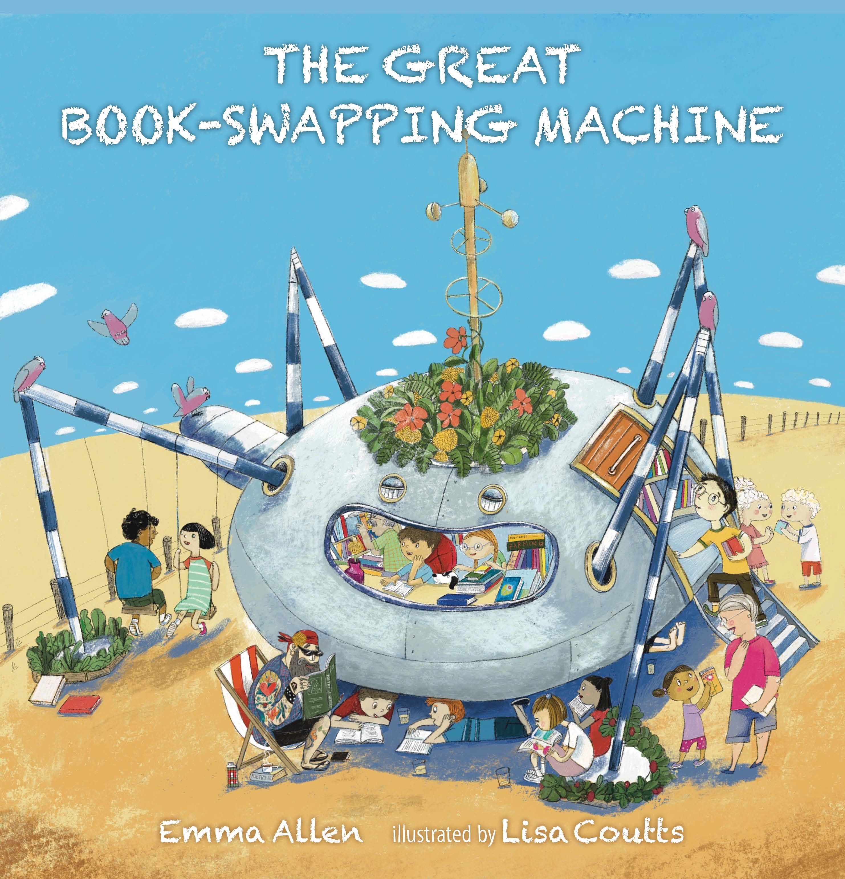The Great Book-swapping Machine by Emma Allen