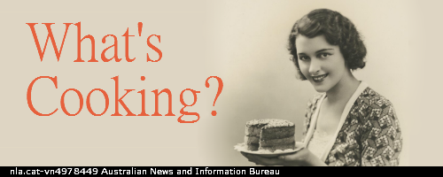 What's Cooking - National Library of Australia Bookshop