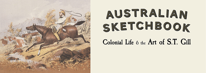 Australian Sketchbook - National Library of Australia Bookshop