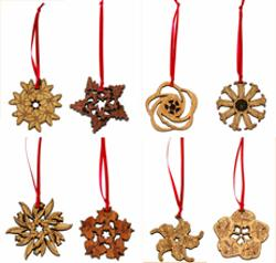 Buttonworks Christmas Decoration - State Flowers