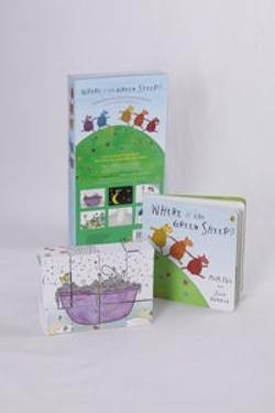 Where is the Green Sheep? Book and Puzzle Set