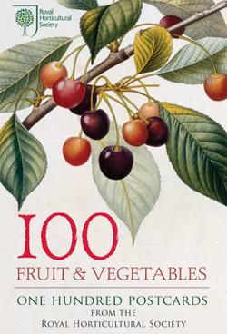 100 Fruit & Vegetables from the RHS: Postcard Set
