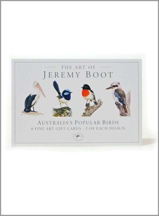 Jeremy Boot Gift Card Pack - Popular Birds