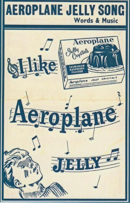Treasures Gallery Merchandise - Postcard - Aeroplane Jelly Advertising Jingle  - NL21051