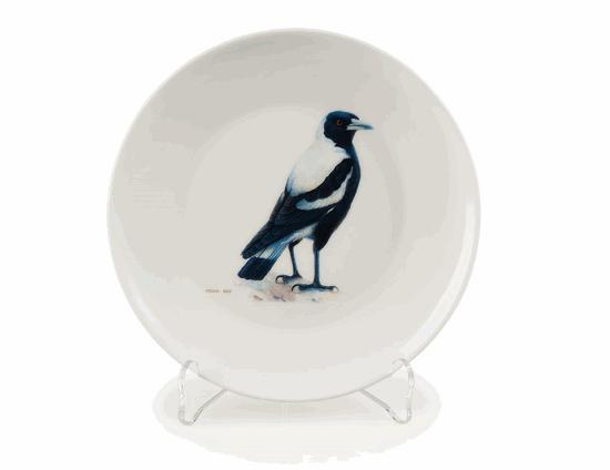 Magpie China Plate