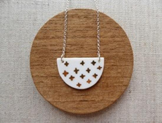 Necklace - Ginga Half Moon