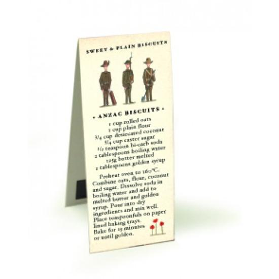 Anzac Biscuits Magnetic Bookmark - Rachael Flynn