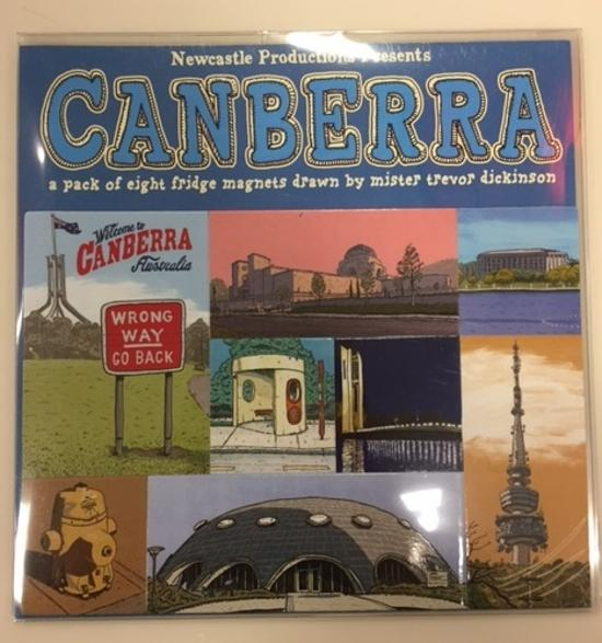 Canberra 8 Piece Magnet Set - Newcastle Productions