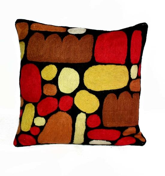 Cushion Cover - Puli Puli Stones - Wool 30cm