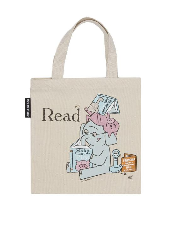 Kids Tote Bag - Elephant and Piggie Read