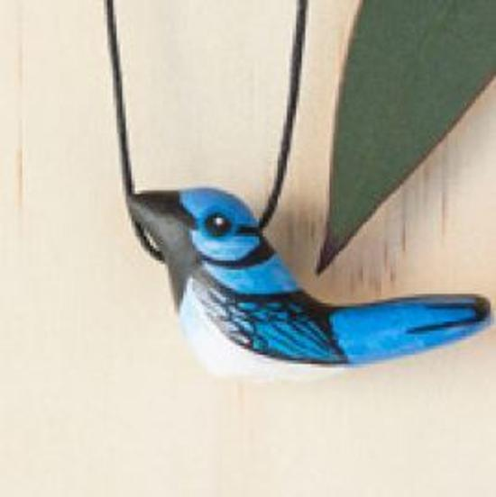 Necklace - Superb Fairy Wren Songbird Whistle