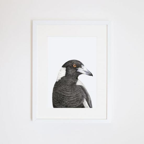 Print - A3 - Maggie the Magpie - Unframed