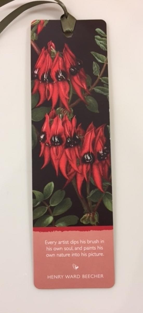 Bookmark - Sturt Pea