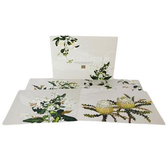 Placemats: White Collection