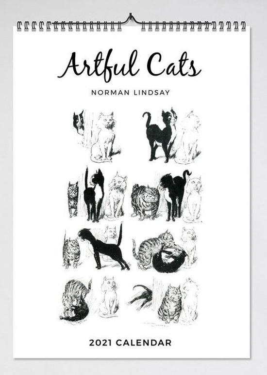 2019 Artful Cats Wall Calendar
