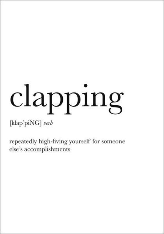 Card - Clapping