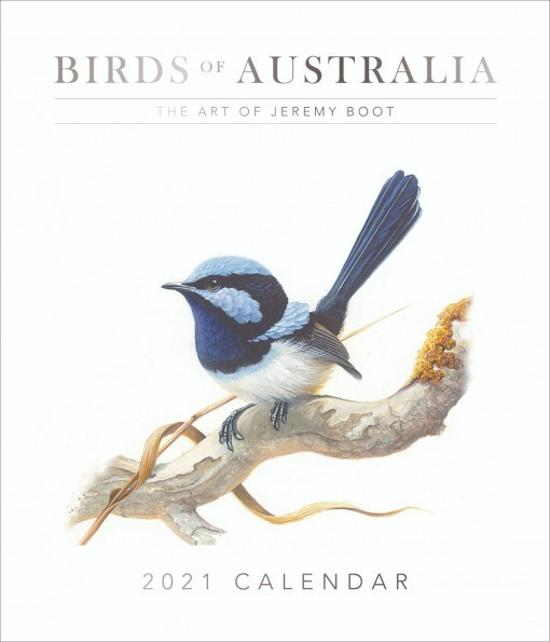 2021 Jeremy Boot Wall Calendar