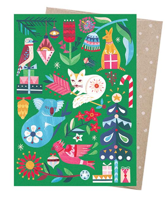 Christmas Card - Festive Woodland
