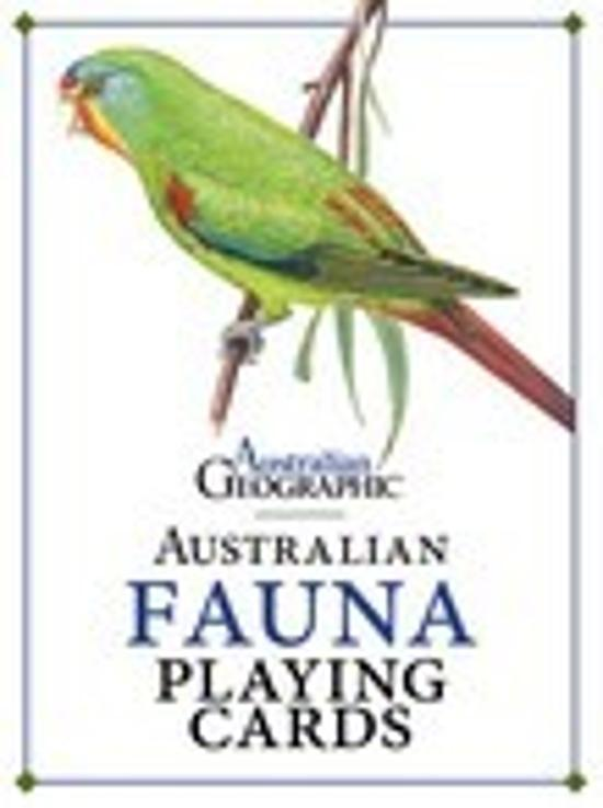 Australian Fauna Playing Cards
