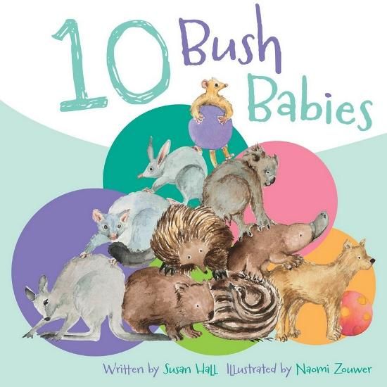 10 Bush Babies Board Book