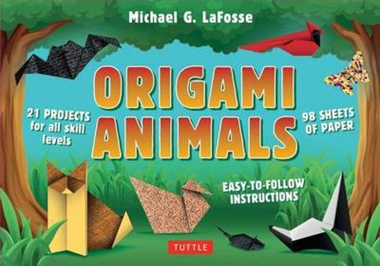 Origami Animals Kit - [Origami Kit with 64-Page Book, 98 Papers, 22 Projects]