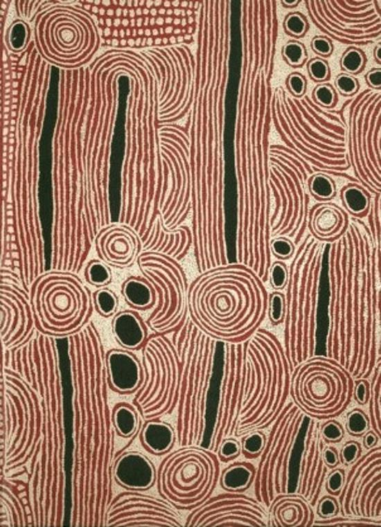 Ningura Napurrula Aboriginal Design Blank Journal