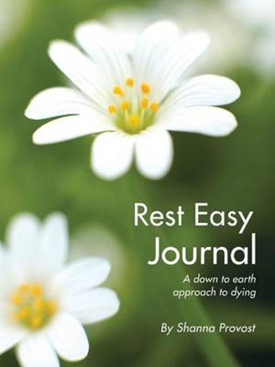 Rest Easy Journal - New Edition - A Down to Earth Approach to Dying