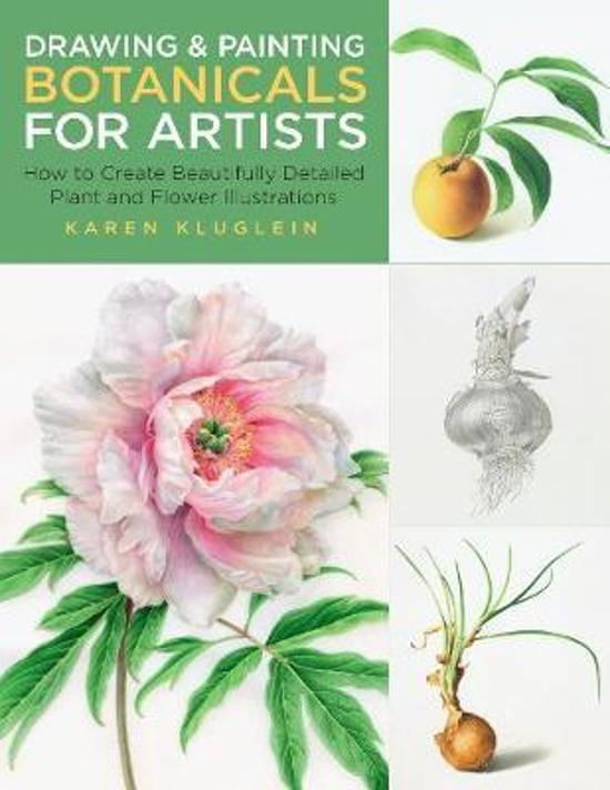 Drawing and Painting Botanicals for Artists - How to Create Beautifully Detailed Plant and Flower Illustrations