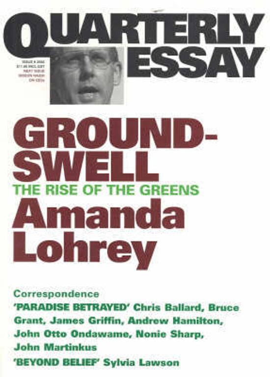 Quarterly Essay 08 - Groundswell