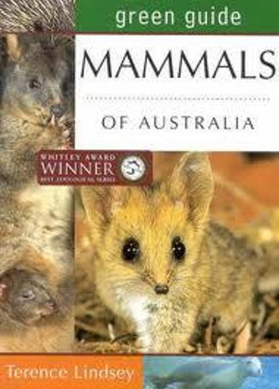 Mammals of Australia Green Guide