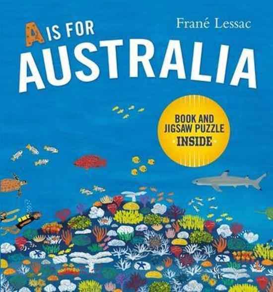 A Is for Australia - Book and Jigsaw Puzzle