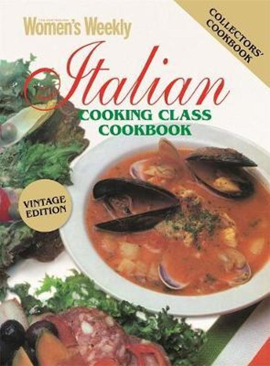 Italian Cooking Class Vintage Edition