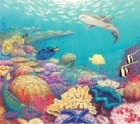 Australian Menagerie Game - Coral Reef Add-on Habitat