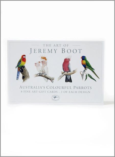 Jeremy Boot Gift Card Pack - Parrots - AS660