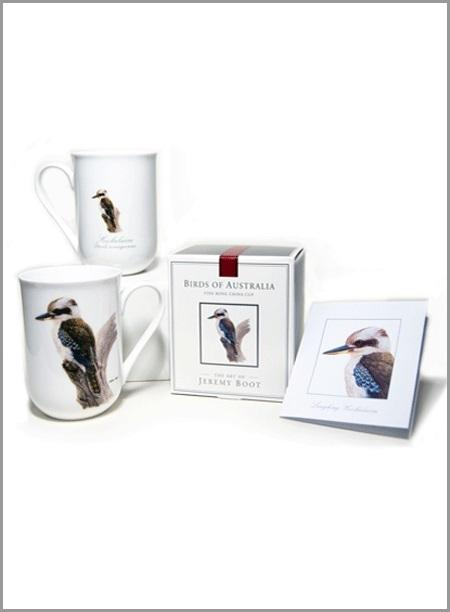 Kookaburra Fine Bone China Cup