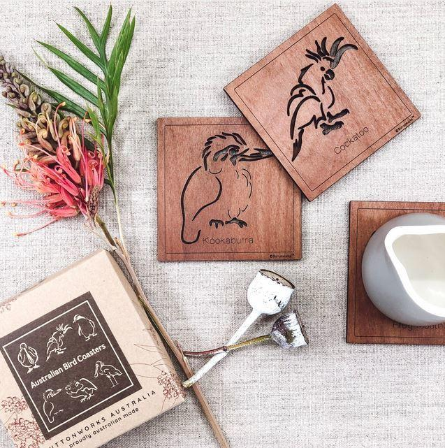Bird Coasters: Square Coaster Pack
