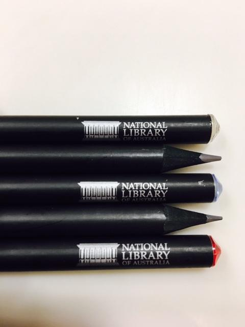 National Library Logo Swarovski Pencil - Various Colours