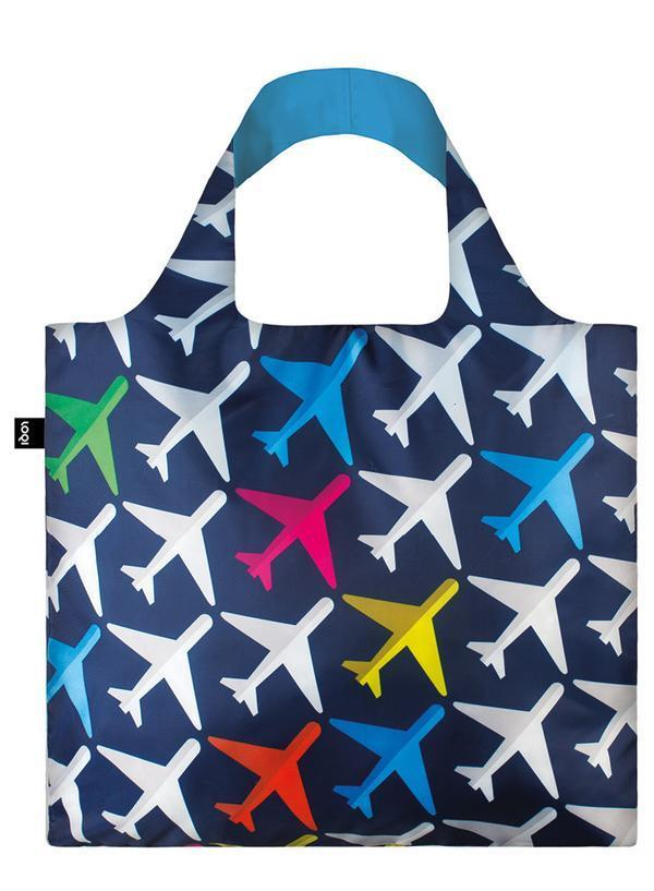 Loqi Shopping Bag - Airplane