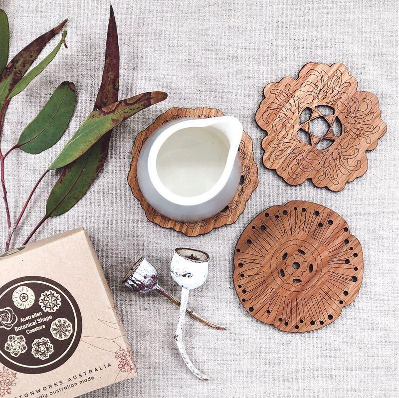 Botanical Coasters - Floral Shaped Coasters
