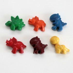 Dinosaur Crayons - Box of 6