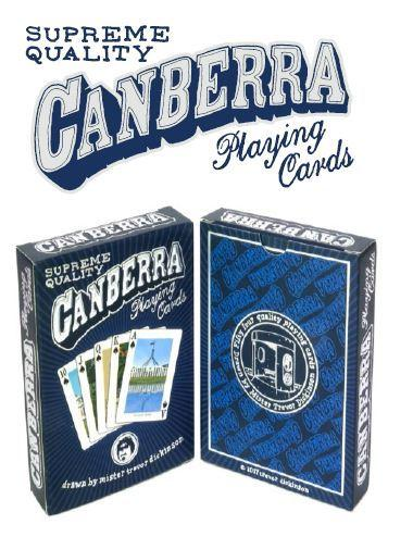 Canberra Playing Cards