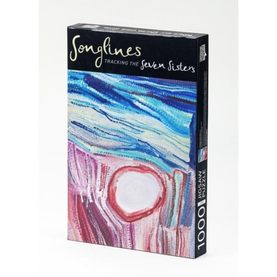Parnngurr Rock Hole Painting - Songlines -  Jigsaw Puzzle