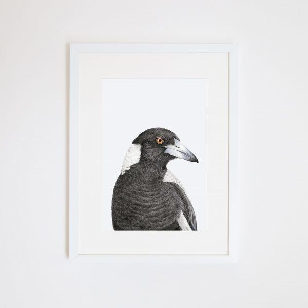 Print - A4 - Maggie the Magpie - Unframed