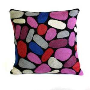 Cushion Cover - Pulli Pulli Stones - Wool 30 cm