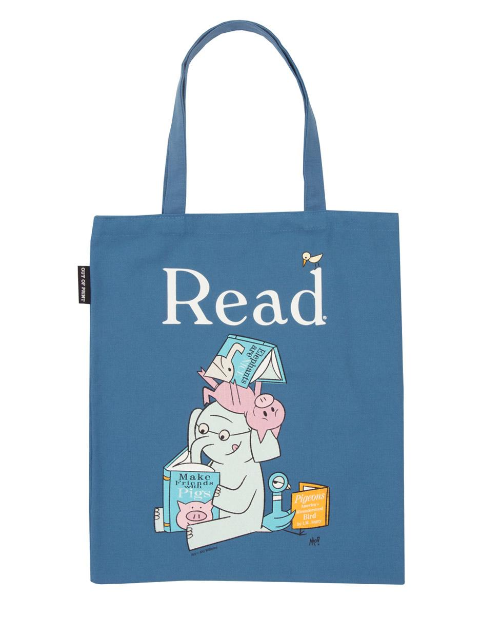 Tote Bag - Elephant and Piggie Read
