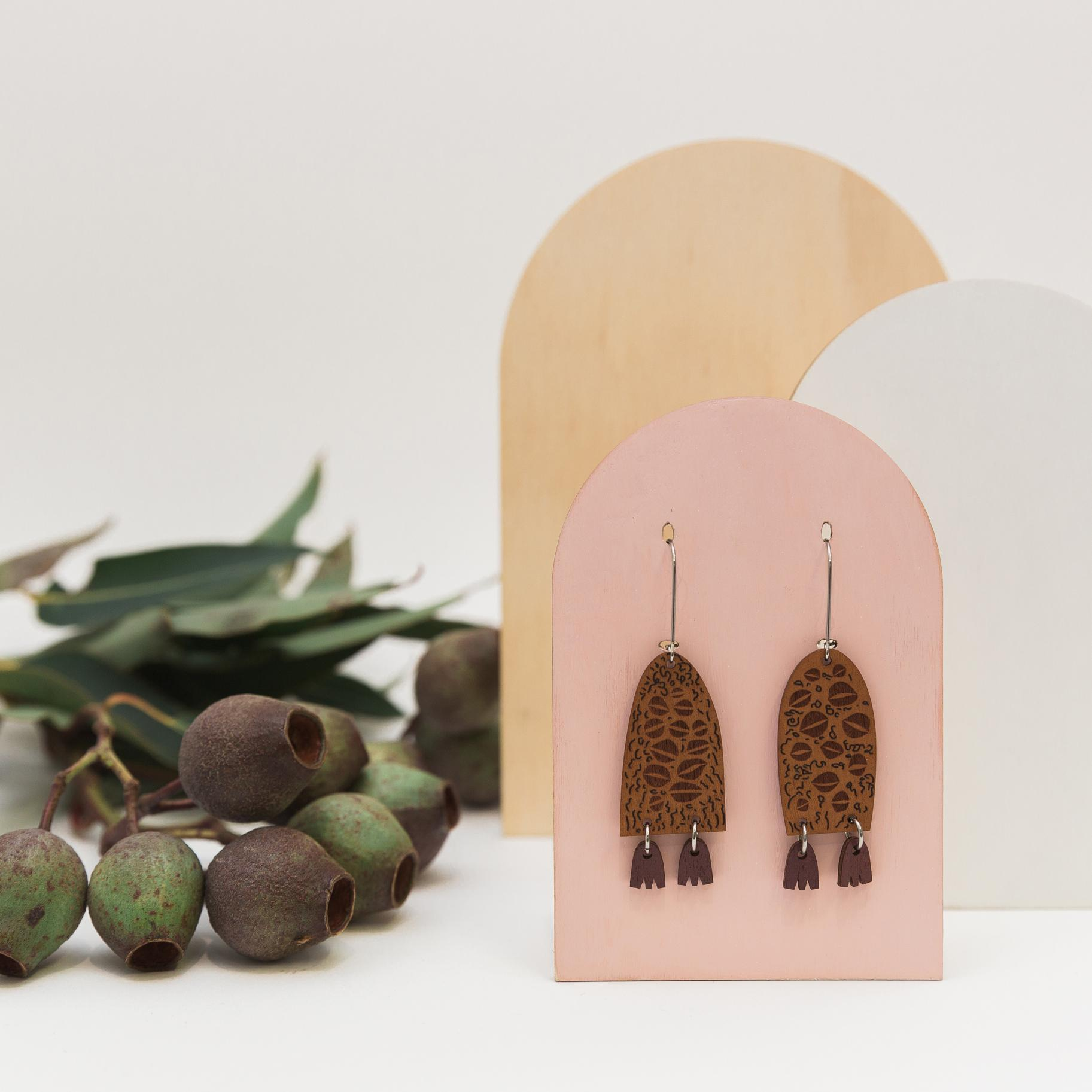 Earrings - Banksia The Guardians